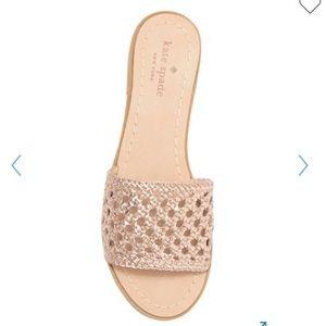 Kate Spade Rose Gold Sandal